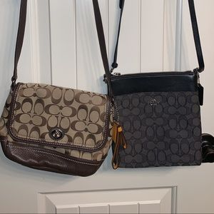Coach Bags - Coach Crossbody with matching ID wallet